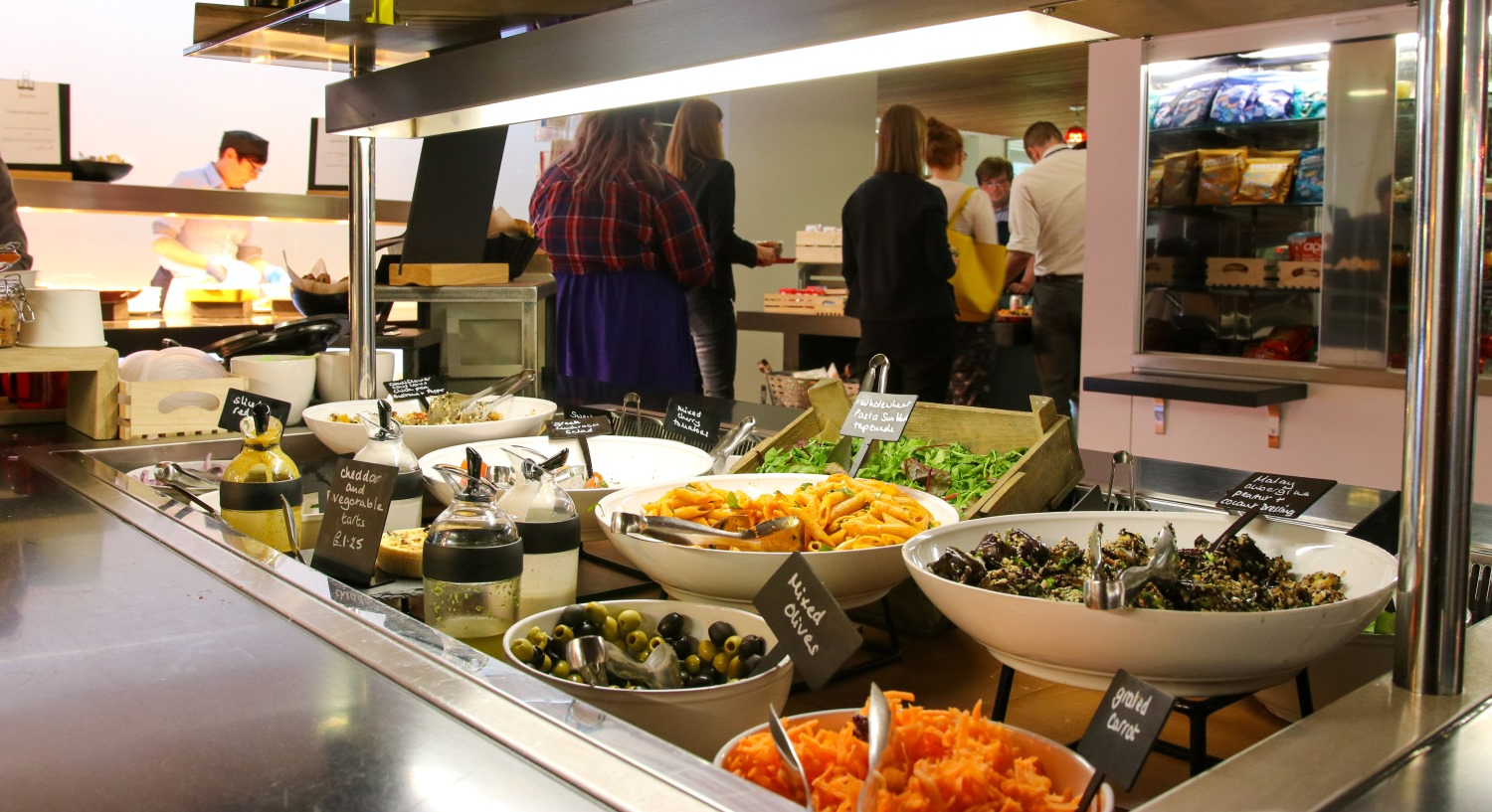 BaxterStorey catering in Roche, Burgess Hill